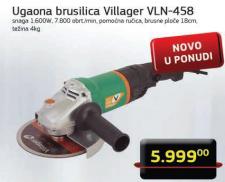 Ugaona električna brusilica 180mm 1600W VLN 458