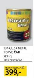Emajl za metal i drvo