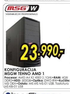 Konfiguracija TEHNO AMD 1