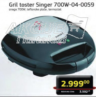 Grill toster 700W-04-0059