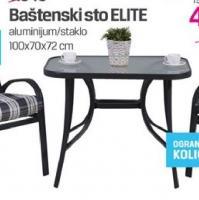 Baštenski sto Elite