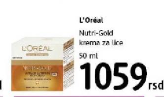 Krema za lice Nutri Gold