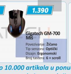 Miš GM-700 GAMER