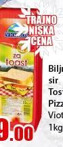 Sir biljni tost