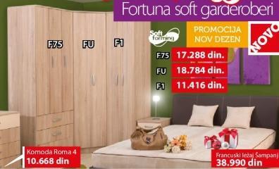 Garderober Fortuna Soft Fu