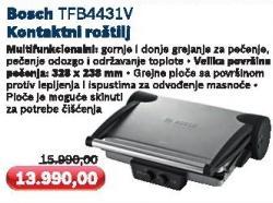 Kontaktni roštilj Tfb4431v