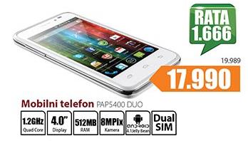 Telefon mobilni PAPS400 Duo