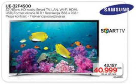 "Televizor LED 32"" UE32F4500"