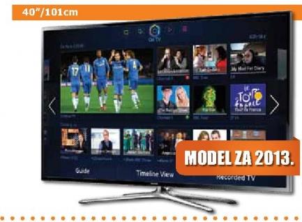 3D televizor LED UE40F6400