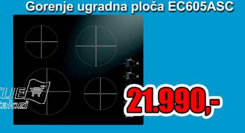 Ugradna ploča EC 605 ASC