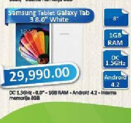 Tablet Galaxy Tab 3 8.0 Midnight White