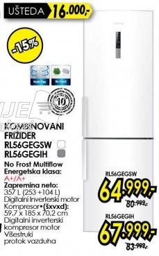 Kombinovani frižider Rl56gegsw