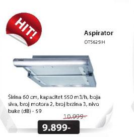 Aspirator OTS625IH