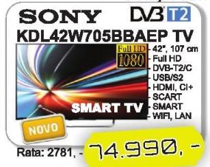 "Televizor LED 42"" Kdl42w705bbaep"