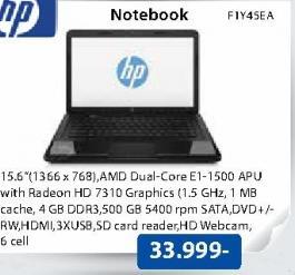 Laptop Notebook F1Y45EA
