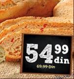 Hleb Sicilijana sa paprikom