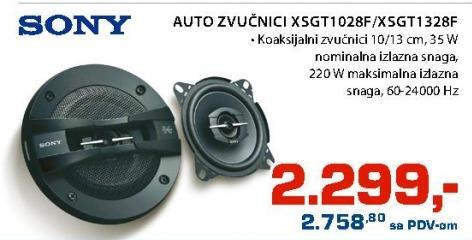 Auto Zvučnici X5GT1028F/XSGT1328F