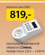 Digitalni programator vremena Commel