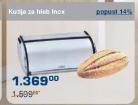 Kutija za hleb Inox
