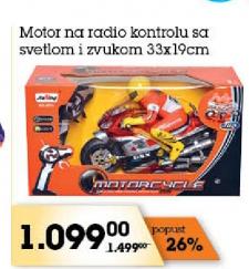 Motor na radio kontrolu