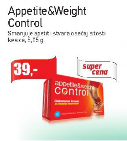 Appetite&Weight Control kesica