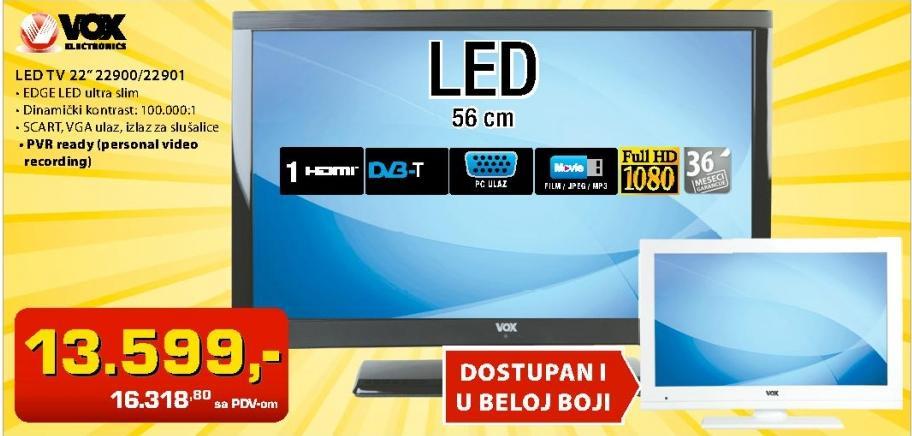 "Televizor LED 22"" 22901"