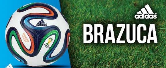 Fudbalska lopta Brazuca 2014