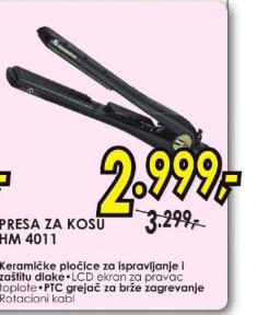 Presa Za Kosu Hm 4011