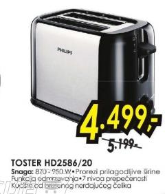 toster HD2586/20