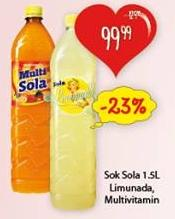 Gazirani sok Sola limunada