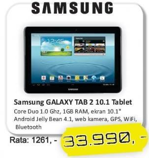 Tablet Galaxy Tab2 10.1