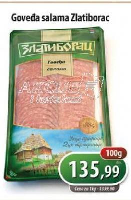 Salama goveđa slajs