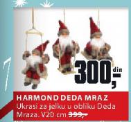 Ukras Harmond Deda Mraz