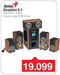 Zvučnici SW-hf5.1 5200