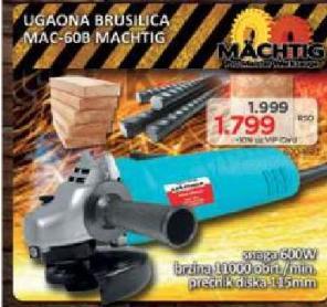 Ugaona brusilica MAC 608