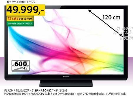 "Televizor 42"" Plazma Tx-P42x60t"