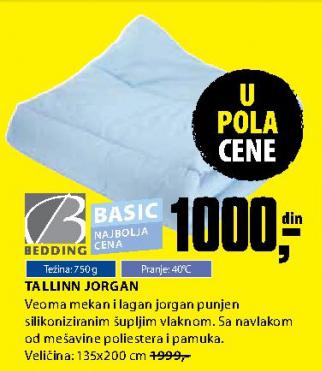 Jorgan Tallinn - Bedding