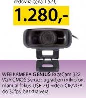 Web kamera FaceCam 322
