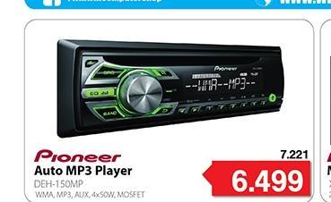 Auto MP3 Player  DEH-150MP