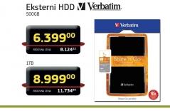 Eksterni HDD 500GB