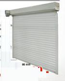 Garažna rolo vrata, 2500x2150mm