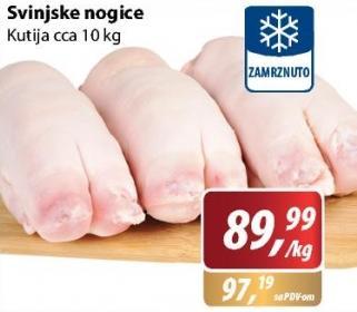 Smrznute svinjske nogice