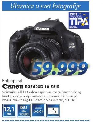 Fotoaparat DSLR EOS600D