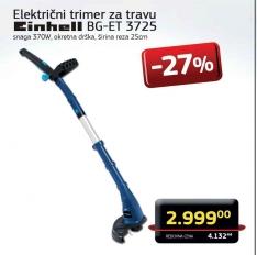 Električni trimer za travu BG-ET 3725