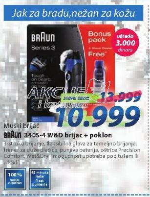 Aparat za brijanje 3405-4 W&D
