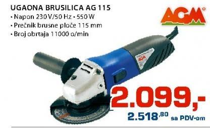 Ugaona brusilica AG 115