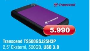 Eksterni hard disk TS500GSJ25H3P