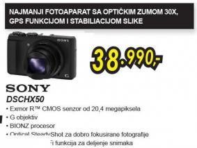 Digitalni fotoaparat Dschx50