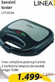 Sendvič toster LST0324