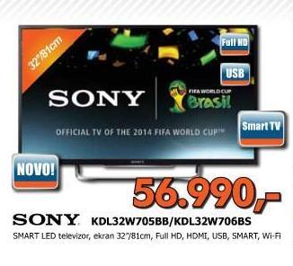 Televizori LED KDL32W706BS